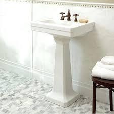 kohler bancroft pedestal sink bancroft pedestal sink kohler home and sink