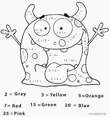 Free Printable Math Coloring Pages For Kids Cool2bkids A Coloring Sheet