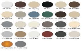 color selection eco rain gutters aluminum color selection georgetown tx