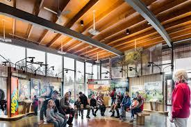 Zoo Light Portland by Oregon Zoo Education Center Opens Opsis Architecture