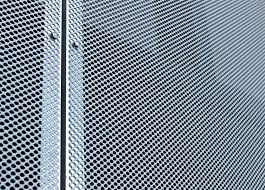 Metal Curtain Wall Metal Mesh Architectural Exterior Design For Curtain Wall Basica