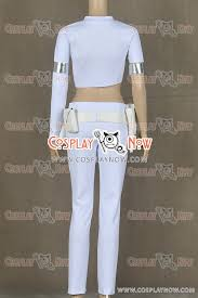 Padme Halloween Costume Star Wars 2 Attack Clones Cosplay Padmé Amidala Costume