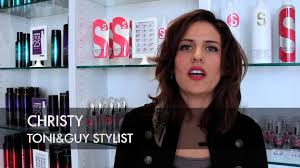 toni and guy hairstyles women toni guy haircut makeover long curly look to short sophisticated