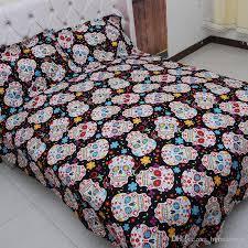 sugar skulls for sale 3d skull bedding set sugar skulls bedspread size