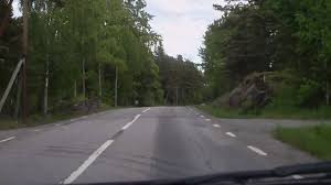 Swedish Country Typical Swedish Country Road Värmdö Sweden Avi Youtube