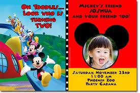 free mickey mouse birthday invitations ideas u2014 all invitations
