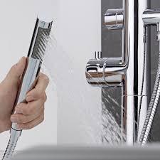 mirage freestanding thermostatic bath shower mixer tap milano mirage freestanding thermostatic bath shower mixer tap