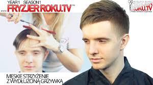 męskie strzyżenie z wydłużoną grzywką men u0027s haircut with