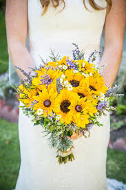 sunflower bouquets sunflower wedding bouquet