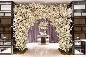 wedding arches toronto cherry blossom archway four seasons toronto wedding decor