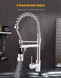 Kitchen Faucet With Spray Pull Down Spray Swivel Kitchen Faucet 81 62 Online Shopping