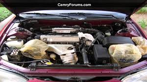 1996 toyota camry motor how to clean the toyota camry engine bay