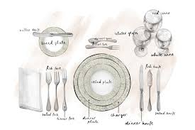 how to set a dinner table correctly 54 setting dinner table correctly standard table setting basics