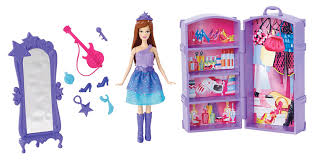 amazon com barbie the princess and the popstar mini doll scene