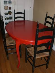 kitchen table hand painted table tops dining table redo ideas