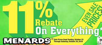 menards price match lowe s challenges menards with its own 11 percent rebate offer