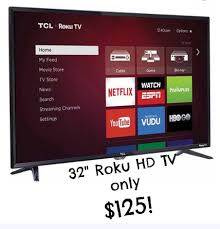 amazon black friday movies walmart black friday deal 32 u2033 roku hd tv only 125 available on