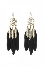 feather earrings online india white feather earrings online india earrings