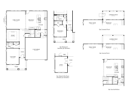 somerset floor plan at preserve at white oak signature collection
