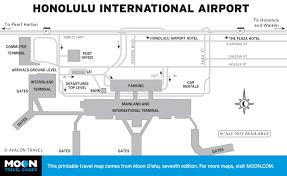 Maps O Printable Travel Maps Of O U0027ahu Moon Travel Guides