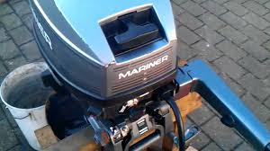 10 hp mariner magnum outboard mercury made youtube