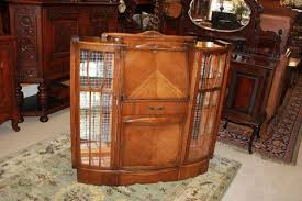 secretary desk with bookcase antique art deco oak wood side by side secretary desk bookcase