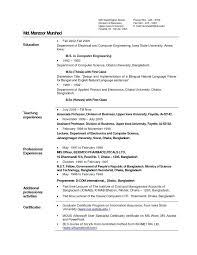 sample resume for freshers pdf sample resume of fresher software
