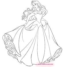 Princess Aurora coloring page  ART✏  Pinterest  Coloriage