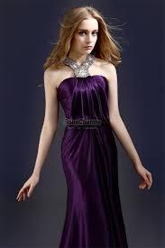 robe de cocktail longue pour mariage luxe robe violette soirée longue pour mariage cérémonie en satin