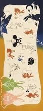 japanese tenugui cotton fabric kawaii rabbit samurai kimono