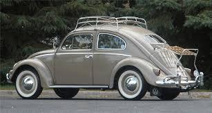 1956 volkswagen beetle nile beige vw bug collector pinterest
