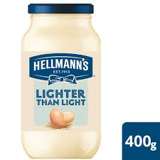 hellmans light mayo nutrition hellmann s lighter than light mayonnaise 400g from ocado