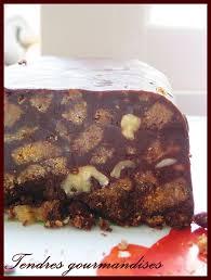 recette cuisine gateau chocolat gâteau au chocolat spéculoos noix sans cuisson tendres gourmandises