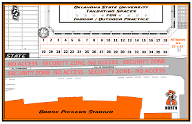 Oklahoma State Map Gameday Tailgate Meeting U0026 Conference Services