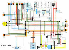 wiring diagram cb500 honda cafe racer