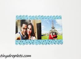 diy valentine photo puzzle with popsicle tiny droplets