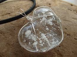 jewelry for ashes of loved one sterling silver wire wrapped ashes infused glass heart