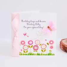 birthday card for luxury personalised handmade birthday cards greetings cards uk