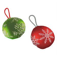 merry chrunch mas ornaments dog toy u2013 ello wholesale pet
