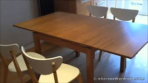 dining room apartment size expandable dining table expandable