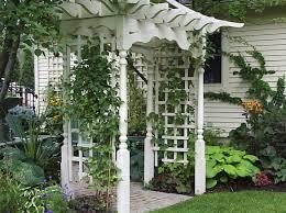 natural modern herb garden trellis plans garden how to build a