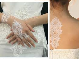 fashion weddinghannah lace tattoo stickers white lace temporary