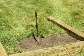 Horseshoe Pit Dimensions Backyard How To Build Backyard Horseshoe Pits Dads Round Table