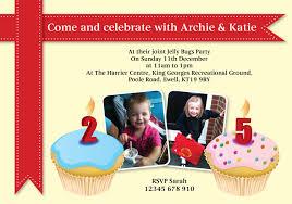 double birthday invitations u2013 gangcraft net