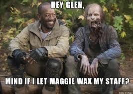 Walker Meme - morgan harasses walker glen meme on imgur