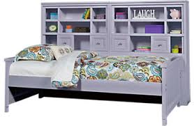 Daybed With Bookcase Headboard Girls Daybeds With Trundles Storage U0026 More