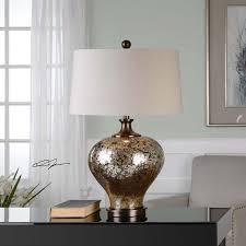 Mercury Glass Table L Uttermost Liro Mercury Glass Table L 27154 1