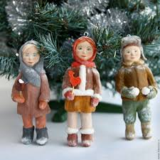 buy cotton christmas decorations handmade on livemaster online shop