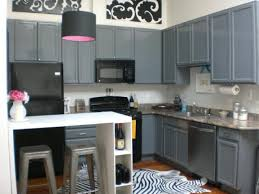 grey and yellow kitchen home design ideas