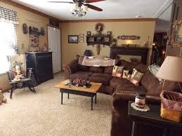 Country Primitive Home Decor Primitive Decorating Ideas For Living Room Manufactured Home